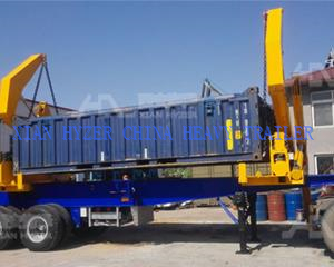 40 ton Loading Capacity Container Side Loader