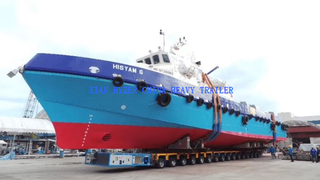 SPMT For Yacht Transport