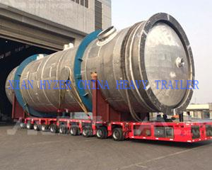 SPMT Self Propelled Trailers Heavy Lifting Equipment